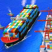 Sea Port: Ship Games؛ بندر تجاری را اداره کنید