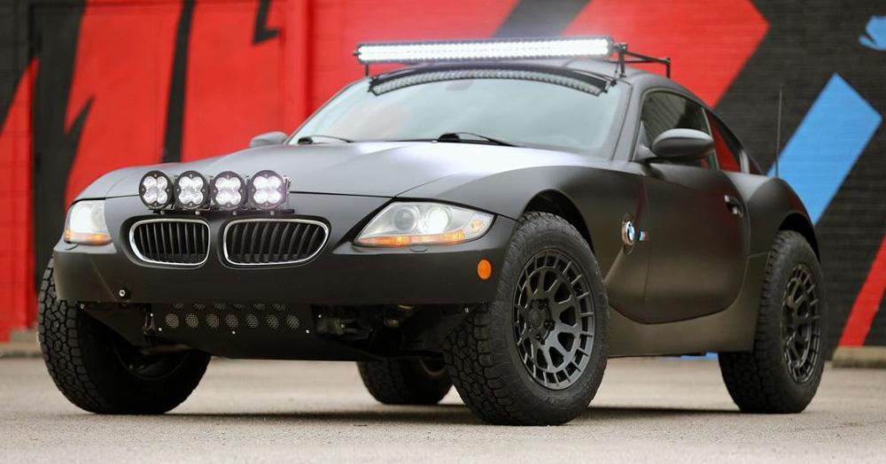 رونمايي از چهره جديد و آفرود BMW Z4