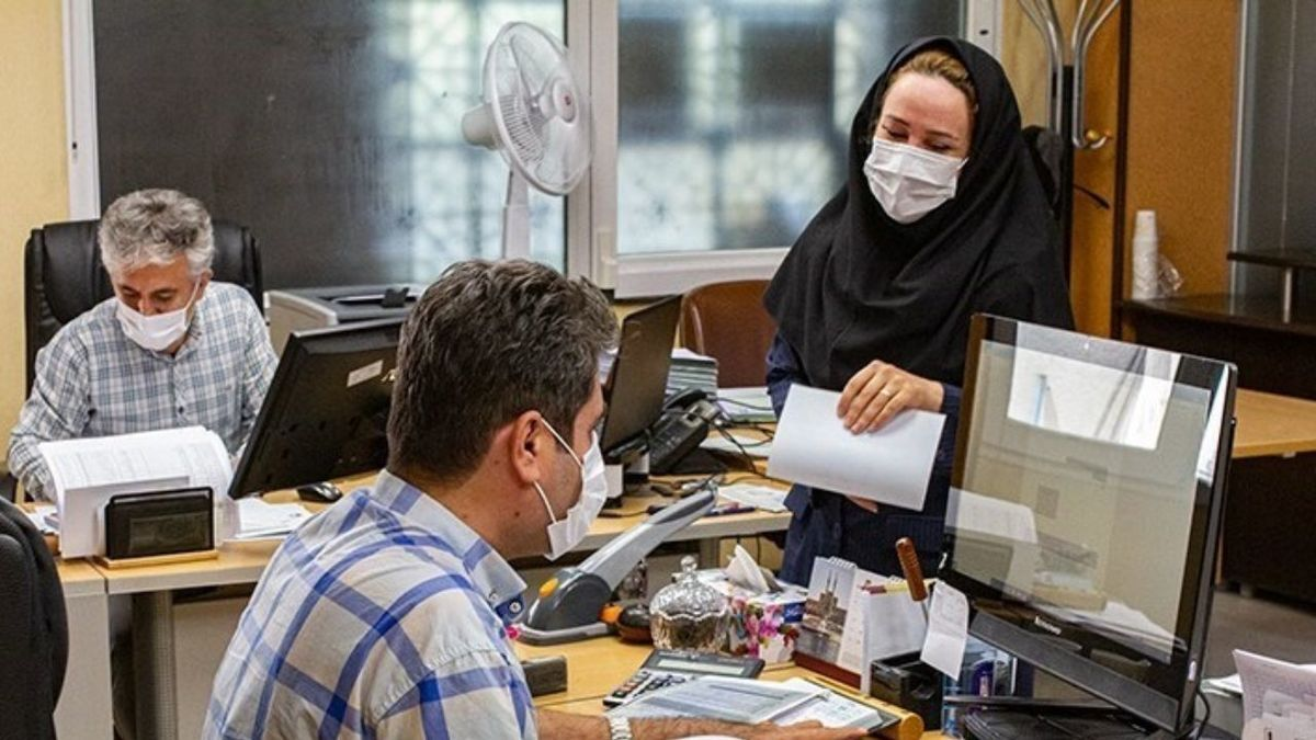 لزوم اجرای دورکاری کارمندان براساس رنگبندی کرونا در خوزستان