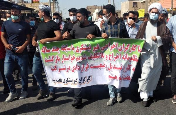 درخواست امامجمعه شوش بر رسيدگي به مشکلات کارگران هفتتپه