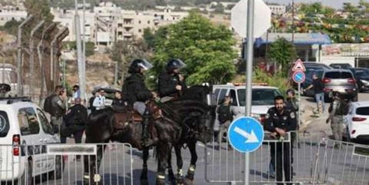 رژيمصهيونيستي محله شيخ جراح را تحت محاصره کامل درآورد