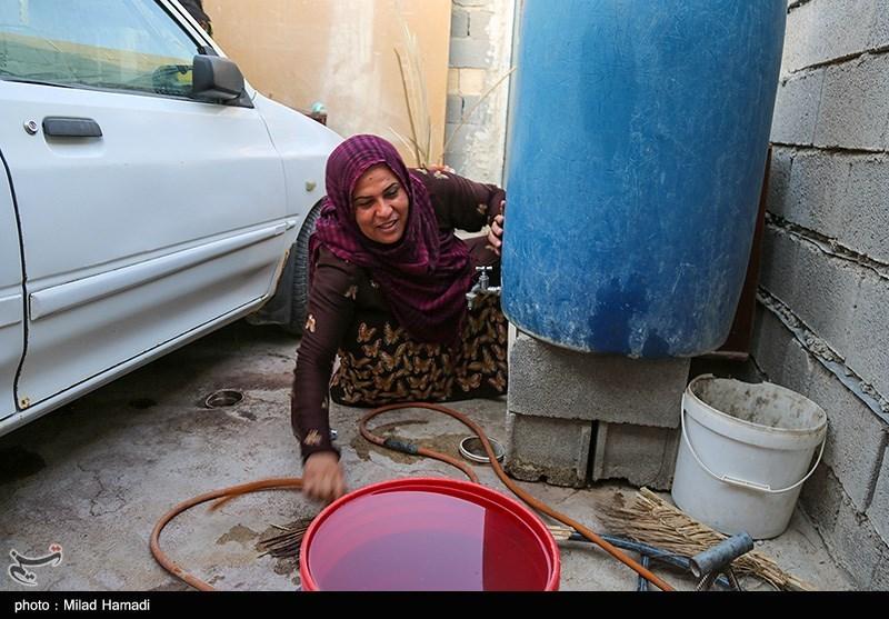 عکس/ بی آبی در شهرک طالقانی ماهشهر