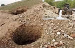 انسداد ۱۶۸ حلقه چاه غیرمجاز در فارس