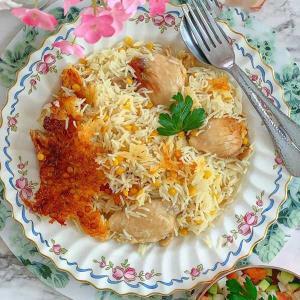 طرز تهیه «شلگه»، پلو مرغ مخصوص به روش تبریزی