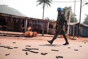 ۶ کشته در پی حمله عناصر مسلح در آفریقای مرکزی