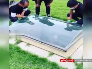 گورستانی در اندونزی که روی قبر شیشه میگذارند!