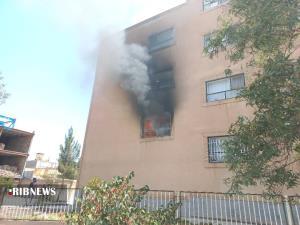 مهار حریق بزرگ در بیرجند با تلاش ۴ تیم آتشنشانی