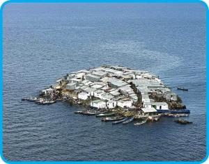 سکونت صلحطلبترین مردم جهان در پرتراکمترین جزیره دنیا