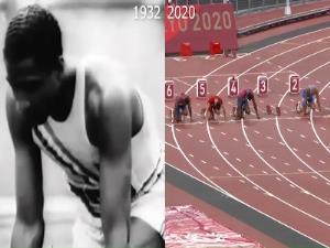 مقایسه دوی 100 متر در 2 المپیک!