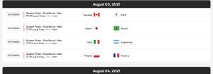 المپیک توکیو/ برنامه مسابقات والیبال مشخص شد