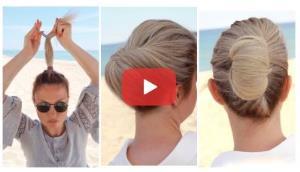 خودآرایی شیک موها به آسان ترین روش ممکن