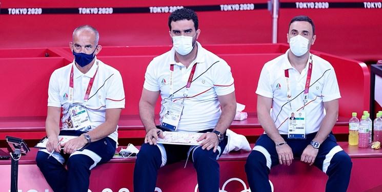 ابراز شرمندگی مربی تیم ملی والیبال پس از باخت به ژاپن