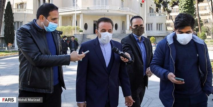 واعظي: روحاني واکسن زده است