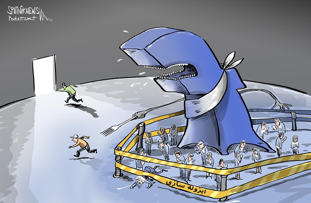 کاریکاتور/ بهبود اقتصاد جهانی به ضرر فیسبوک!