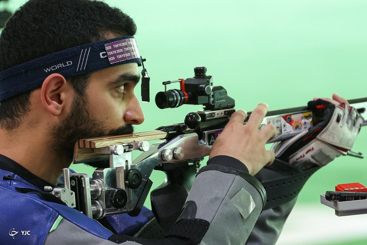 عکس/ رقابت مهیار صداقت در تفنگ ۳ وضعیت