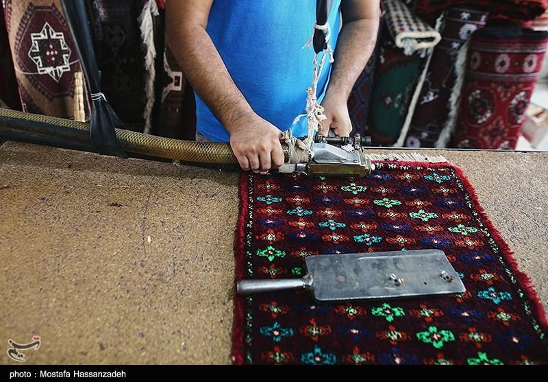 پرداخت قالی دستبافت ترکمن در آق قلا