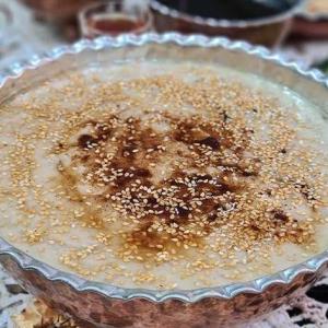 صبحانه/ طرز تهیه «حلیم شیر خامه» خوشمزه و پرطرفدار