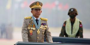 سردسته کودتاچیان میانمار خود را نخستوزیر اعلام کرد