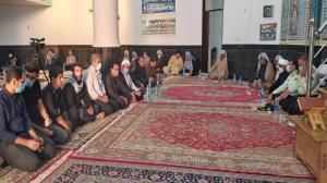 مراسم وداع با شهید دالمن برگزار شد