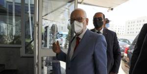 رئیس پارلمان تونس به بیمارستان نظامی منتقل شد