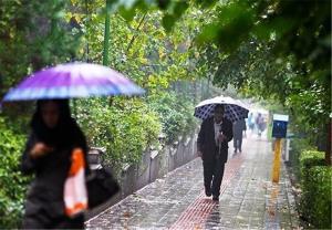 میزان بارندگیهای قزوین به بیش از ۱۵ میلیمتر رسید