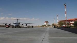 نصب و راهاندازی دکل اندازه گیری سمت و سرعت باد در فرودگاه شهدای ایلام