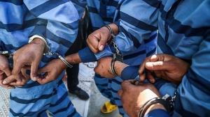 دستگیری ۳۲ سارق در ساوجبلاغ