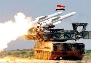 ارتش سوریه هواپیمای جاسوسی را در حلب شکار کرد