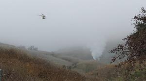 سقوط بالگرد در کالیفرنیا؛ ۴ نفر کشته شدند