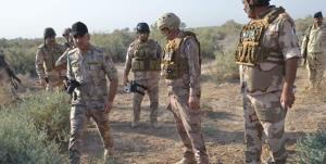 عملیات ویژه نیروهای عراق برای تامین امنیت دروازه کربلا