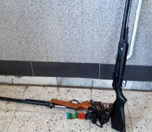 کشف یک قبضه سلاح شکاری غیر مجاز در نهبندان