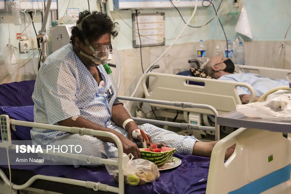 عکس/ وضعیت قرمز کرونایی در خوزستان