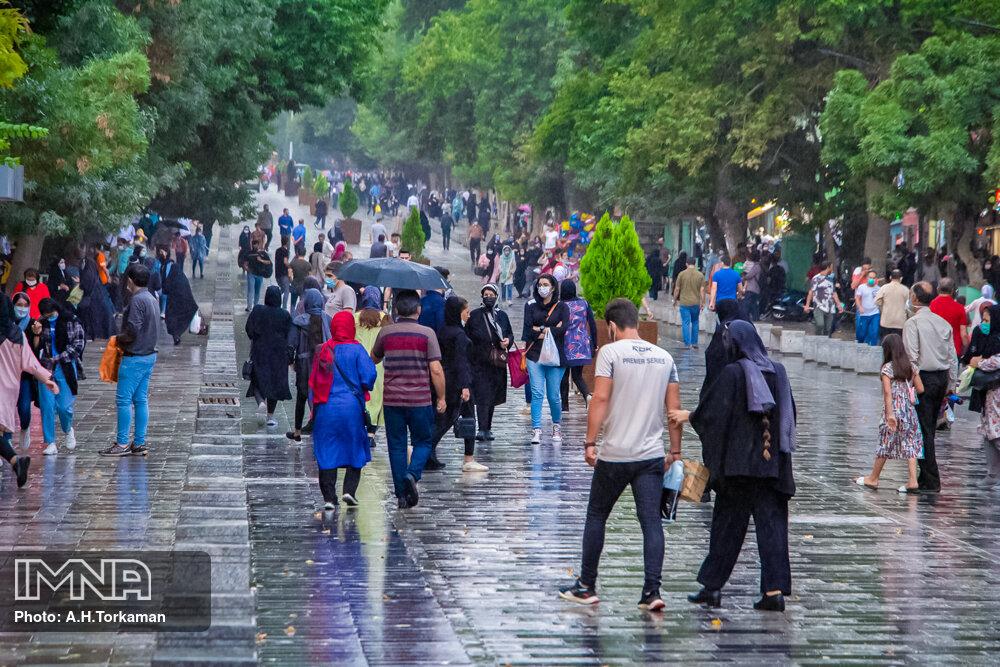 بارش تابستانی همدان