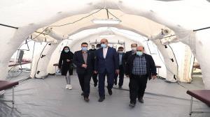 احتمال برپایی بیمارستان صحرایی در قزوین