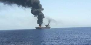 هدف قرار گرفتن یک کشتی دیگر در نزدیکی سواحل امارات