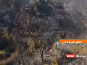 خسارت آتشسوزی به جنگلها و روستاهای ترکیه