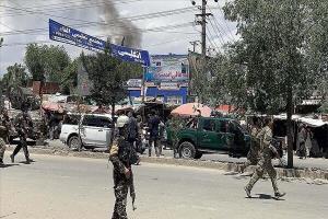 انفجار در منطقه سبز کابل؛ آژیر خطر در سفارت آمریکا به صدا درآمد