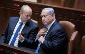 مشاجره لفظی بنت و نتانیاهو در جلسه کنست درباره ایران