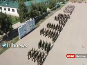 مانور روسیه و ازبکستان در نزدیکی مرز افغانستان