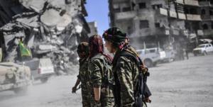 حمله راکتی علیه مقر شبهنظامیان وابسته به آمریکا در شرق سوریه