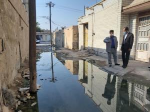 دادستان شادگان برای رفع مشکل فاضلاب شهر ضربالاجل تعیین کرد