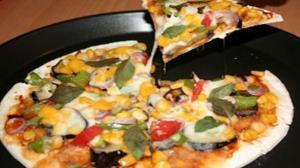 طرز تهیه پیتزا کیپر و بادمجان