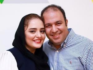 چهره ها/ گشت عاشقانه علی اوجی با نرگس محمدی در شهر