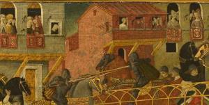رسم آویزان کردن فرش از بالکنهای اروپا چه بود