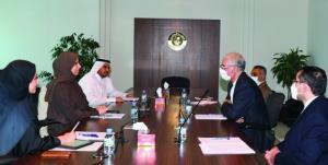 رایزنی دستیار وزیر خارجه قطر و سفیر ایران درباره روابط تهران-دوحه