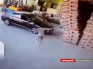 عاقبت پارک کردن اتومبیل در کارگاه