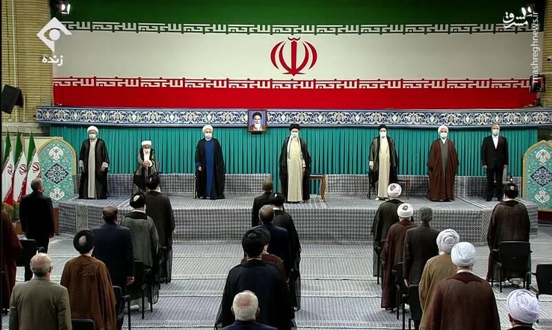 مراسم تنفیذ سیزدهمین دوره ریاست جمهوری اسلامی
