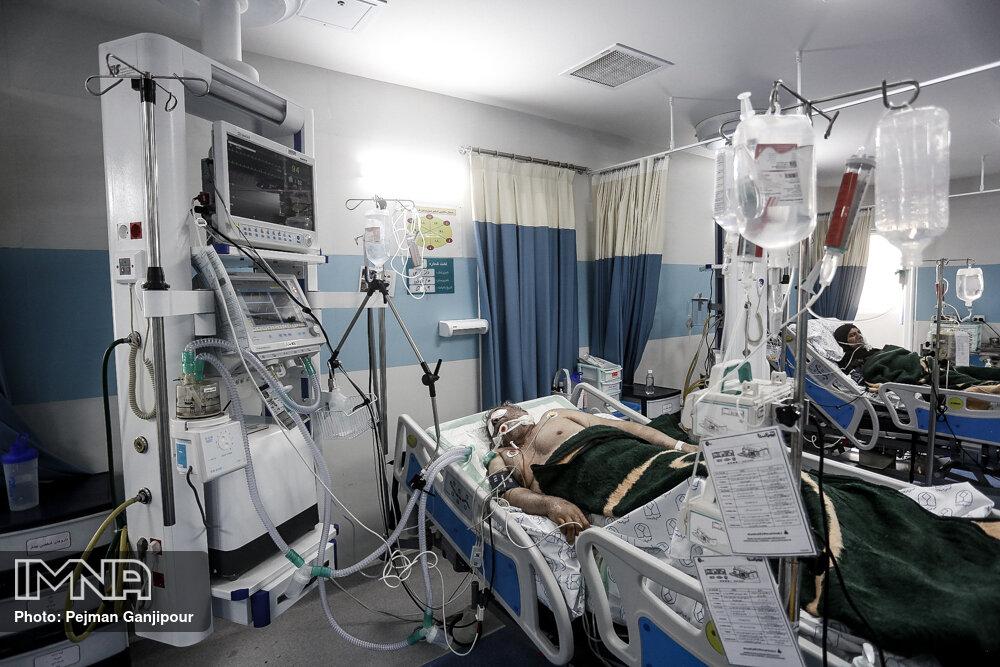 عکس/ پیک پنجم ویروس کرونا در بیمارستان خورشید اصفهان