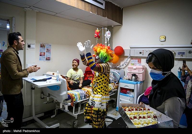 برآورده ساختن آرزوی کودکان مبتلا به سرطان