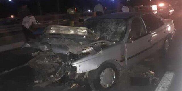۵ کشته و ۱۲ مجروح بر اثر واژگوني خودروي اتباع بيگانه